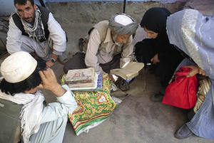 Even educated women in Kabul consult street sorcerers.Gulbuddin Elham / Aina Picture Agency Afghanistan