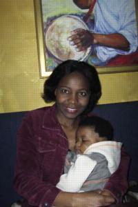 Burundian peace worker Pascaline Nsekera