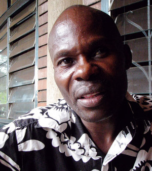 Father figure: David Kato is determined to protect Uganda's beleaguered gay community.