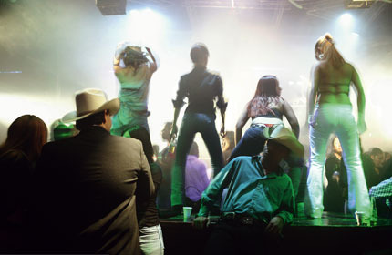 High spirits in hell: clubbing on a Wednesday night in Ciudad Juárez. fernando moleves / panos