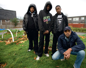 Unlimited imagination: members of Transition Town Brixton have made their garden grow.