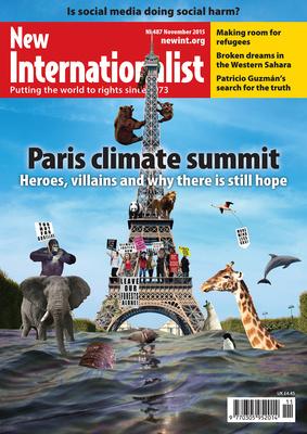 NI 487 - Paris climate summit - November, 2015