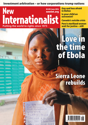 NI 493 - Love in the time of Ebola - June, 2016