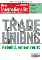 Trade unions - rebuild, renew, resist - September, 2016
