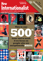 The exceptionally brave - 500th issue - March, 2017