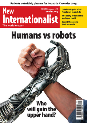 NI 507 - Humans vs robots - November, 2017