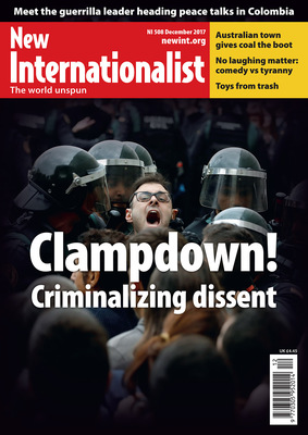 NI 508 - Clampdown! Criminalizing dissent - December, 2017