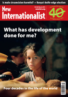 What has development done for me? - March, 2013