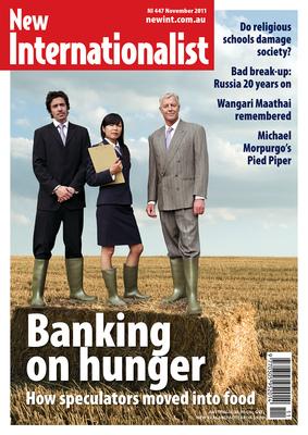 NI 447 - Banking on Hunger - November, 2011