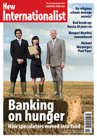 NI 447 - Banking on Hunger - November, 2011