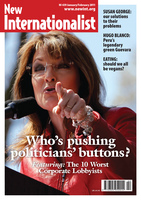 Who's pushing politicians' buttons? - January, 2011