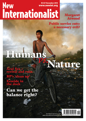 NI 437 - Humans vs. Nature - November, 2010