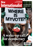 A wake-up call for democracy - October, 2010