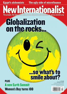 NI 430 - Globalization on the rocks - March, 2010