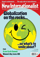 Globalization on the rocks - March, 2010