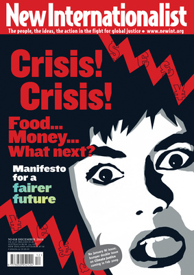 NI 418 - Crisis! Crisis! Food... Money... What next? - December, 2008