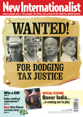 NI 416 - Wanted! For dodging tax justice - October, 2008