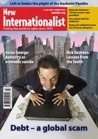 Debt - a global scam - July, 2013