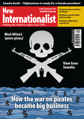 NI 465 - How the war on pirates became big business - September, 2013