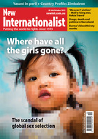 NI 466 - Where have all the girls gone? - October, 2013