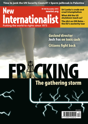 NI 468 - Fracking - the gathering storm - December, 2013