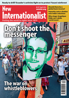 The war on whistleblowers - April, 2014