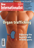 Organ trafficking - May, 2014