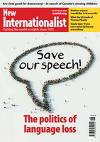The politics of language loss - June, 2014