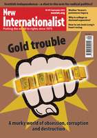 Gold trouble - September, 2014