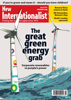The great green energy grab - March, 2015